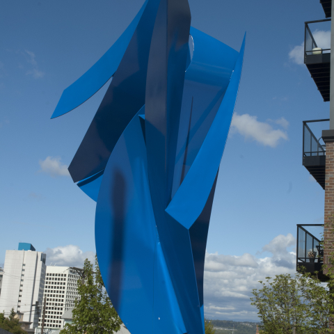 New Finishes - Electrostatic Outdoor Sculpture