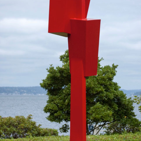 Powder Coated Sculpture