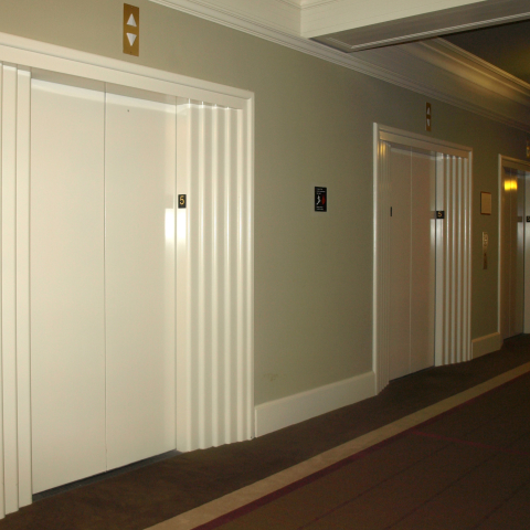 New Finishes Electrostatic Paint - Elevators