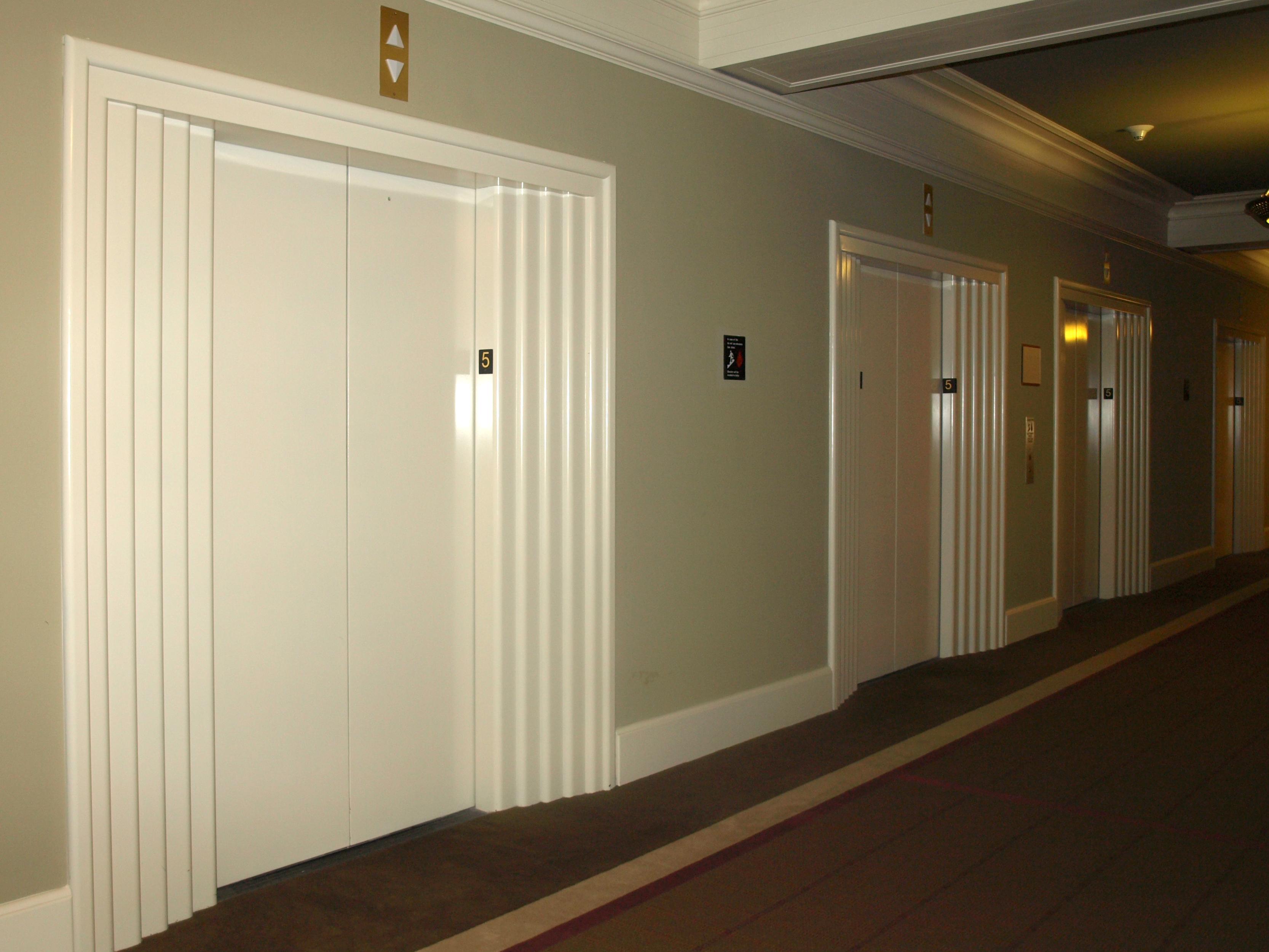 New Finishes Electrostatic Paint - Elevators