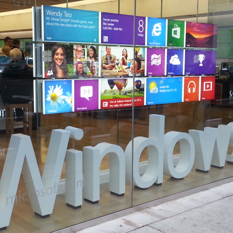 New Finishes Client Microstoft Windows8